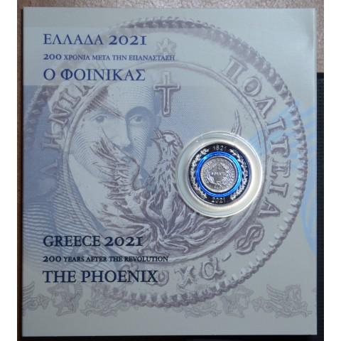 5 Euro Greece 2021 - The Phoenix (Proof)