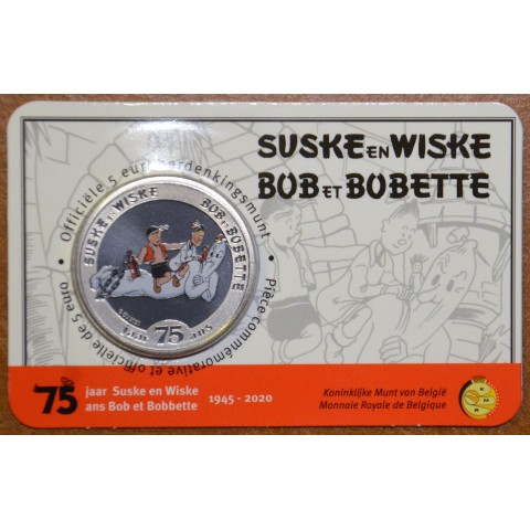 5 Euro Belgium 2020 Suske & Wiske color (BU card)