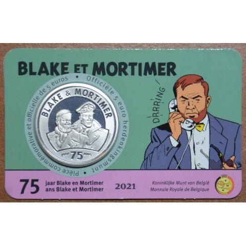 5 Euro Belgium 2021 Blake & Mortimer (BU card)