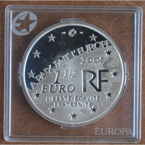 1,50 Euro France 2005 - Peace (UNC)