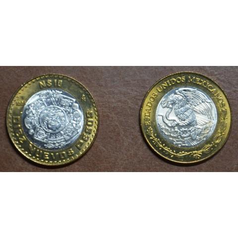 Mexico 10 Nuevos Pesos 1993/94 (UNC)