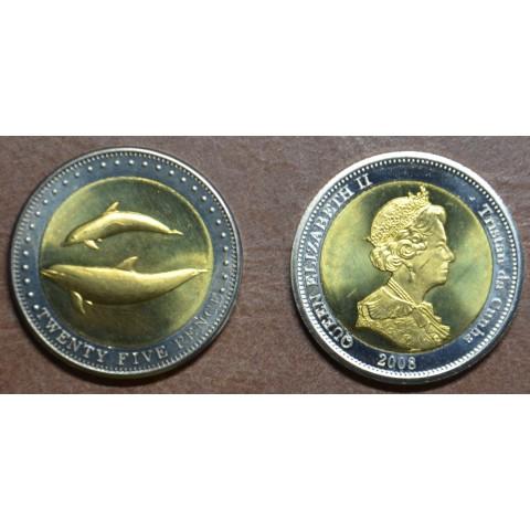 Tristan da Cunha 25 pence 2008 (UNC)