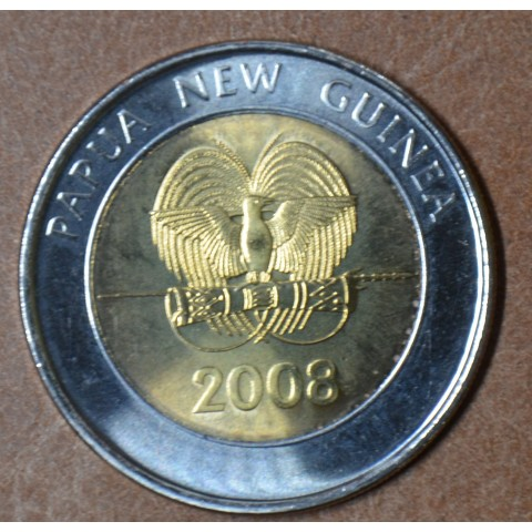 Papua New Guinea 2 Kina 2008 (UNC)
