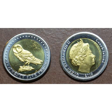 Gough Island 25 pence 2009 (UNC)