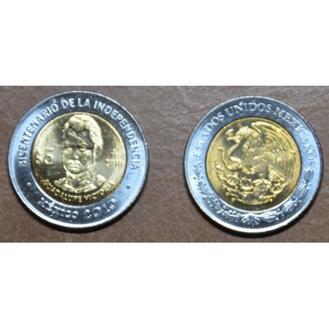 Mexico 5 Pesos Victoria 2010 (UNC)