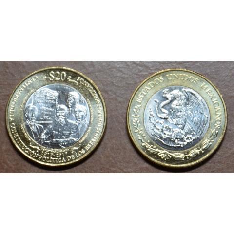 Mexico 20 Pesos 2017 (UNC)