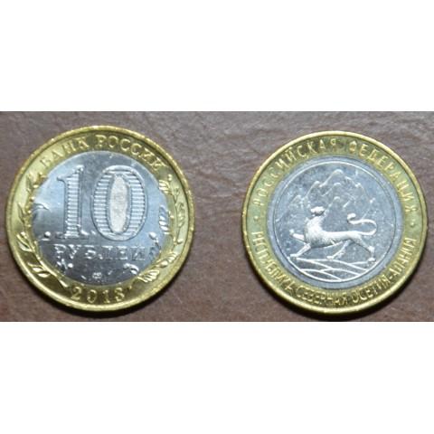 Russia 10 Rubles 2013 North Ossetia-Alania (UNC)