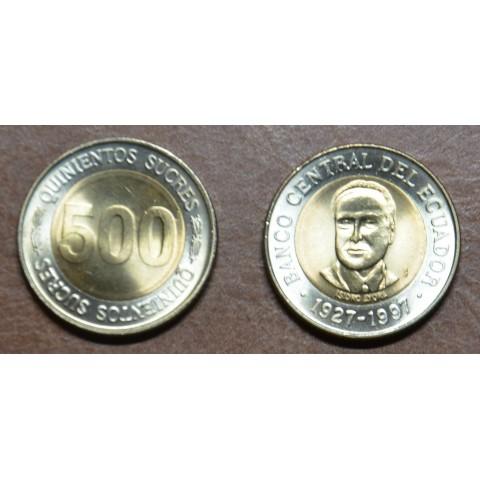 Equador 500 sucres 1997 (UNC)