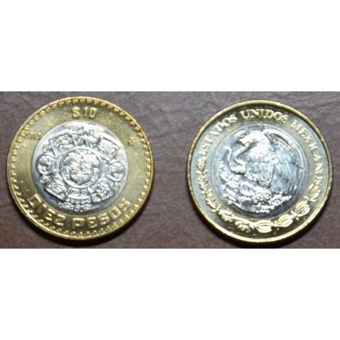 Mexico 10 Pesos 1997-2013 (UNC)