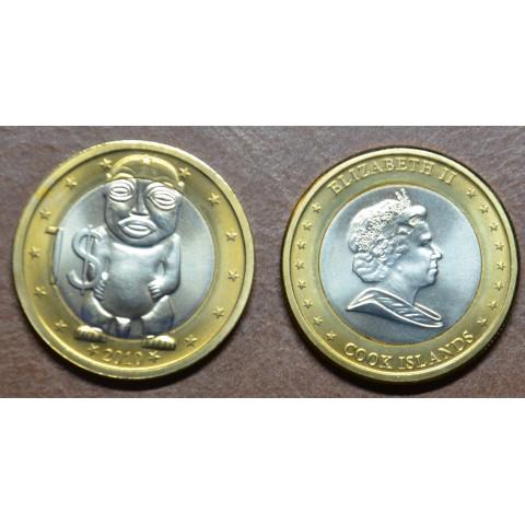 1 dollar Cook Islands 2010 (UNC)