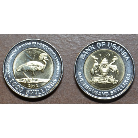 Uganda 1000 schilling 2012 (UNC)