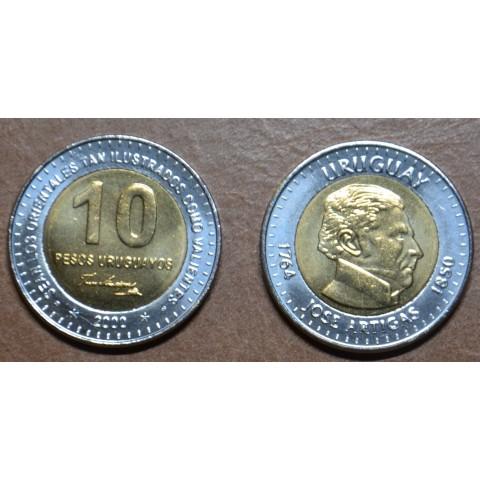 Uruguay 10 Pesos Uruguayos 2000 (UNC)