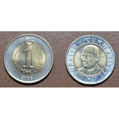 Turkey 1 new lira 2005-2008 (UNC)