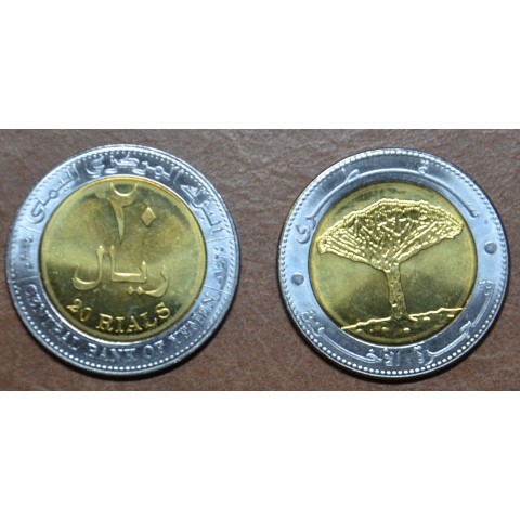 Yemen 20 Riyals 2004 (UNC)