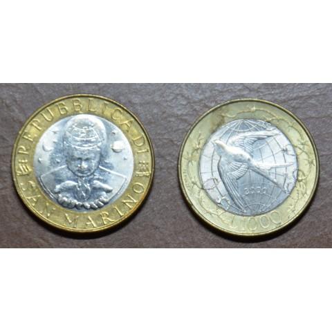San Marino 1000 lira 2000 (UNC)