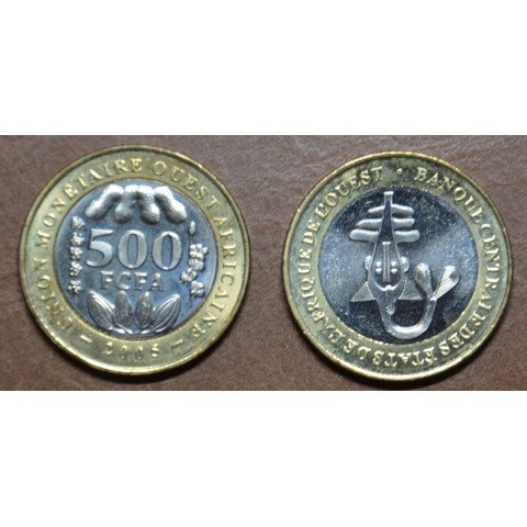 West African CFA franc 500 francs 2003-2009 (UNC)