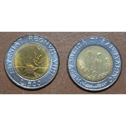San Marino 500 lira 1993 (UNC)