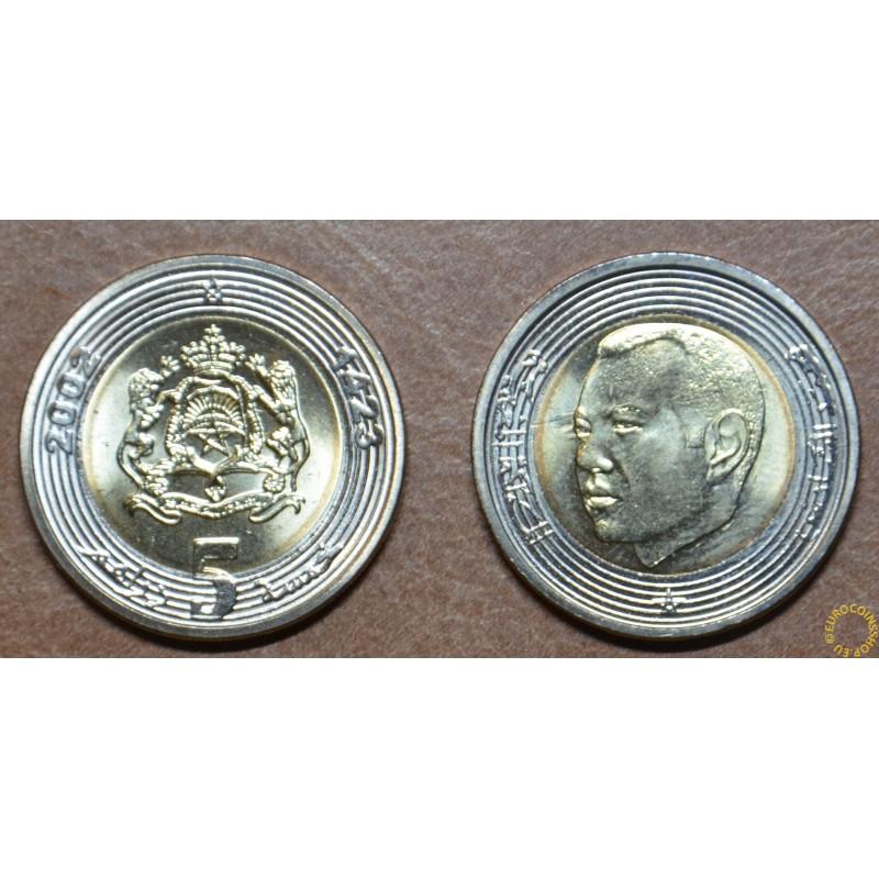 Morocco 5 Dirhams - Mohammed VI. 2002 (UNC)