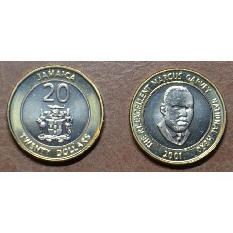 Jamaica 20 dollar 2000-2002 (UNC)