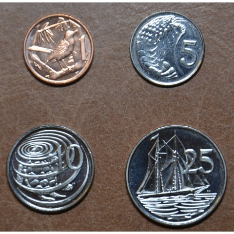 Cayman islands 4 coins 1999-2017 (UNC)