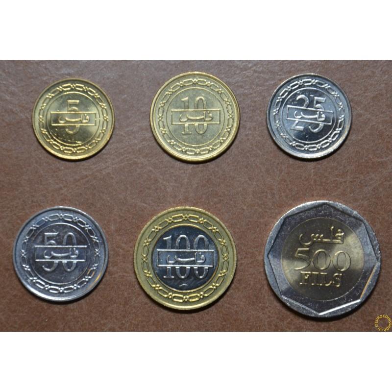 Bahrain 6 coins 1991-2001 (UNC)