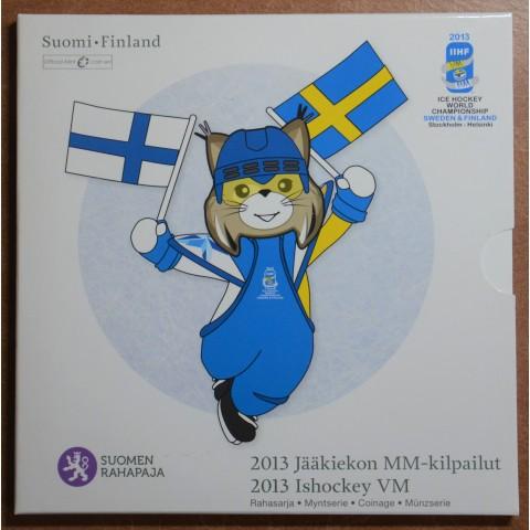 Set of 9 eurocoins Finland 2013 (BU)