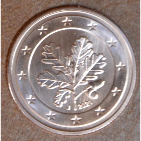 "1 cent Germany 2021 ""J"" (UNC)"