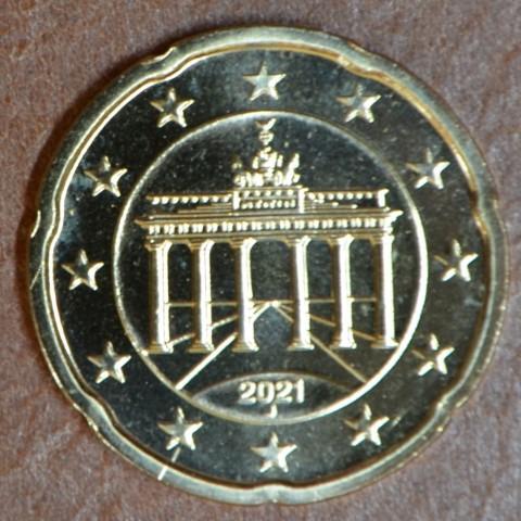 "20 cent Germany 2021 ""J"" (UNC)"