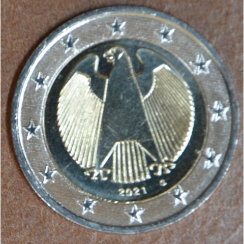 "2 Euro Germany 2021 ""G"" (UNC)"