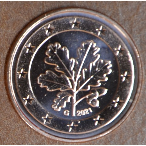 """5 cent Germany 2021 """"G"""" (UNC)"""