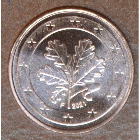"5 cent Germany 2021 ""F"" (UNC)"