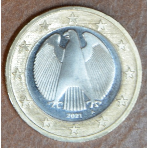 """1 Euro Germany 2021 """"A""""  (UNC)"""