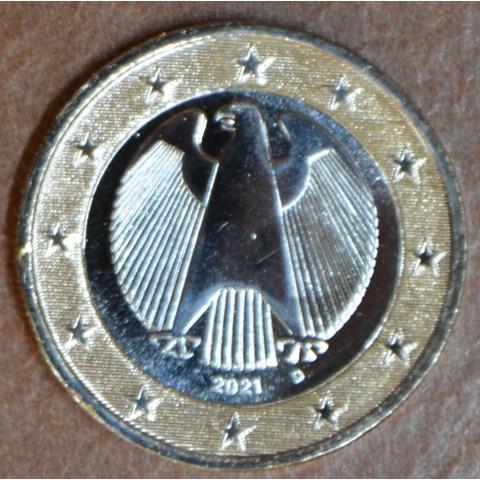 "1 Euro Germany 2021 ""D"" (UNC)"