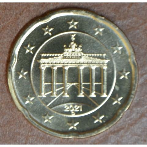 """20 cent Germany 2021 """"D"""" (UNC)"""