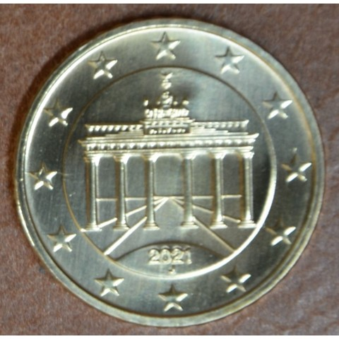 "50 cent Germany 2021 ""J"" (UNC)"