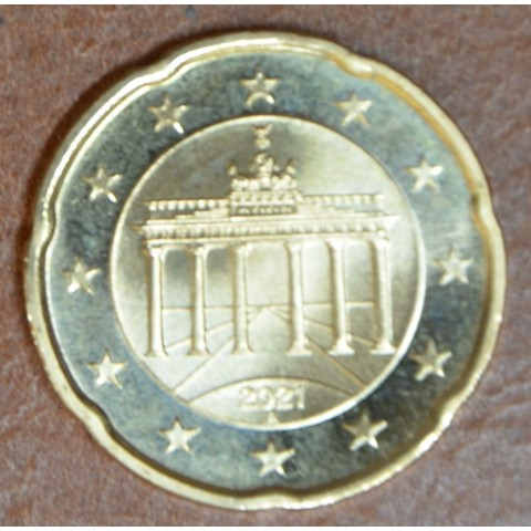 """20 cent Germany 2021 """"A"""" (UNC)"""