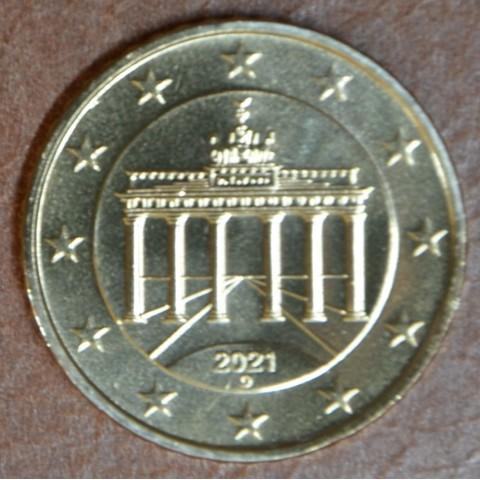 """10 cent Germany 2021 """"D"""" (UNC)"""