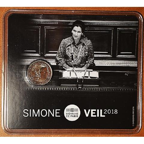 2 Euro France 2018 - Simone Veil (BU)