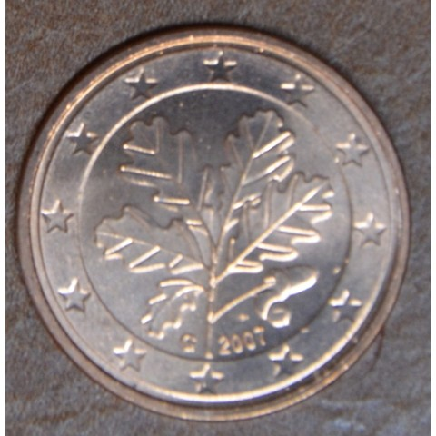 """2 cent Germany """"G"""" 2007 (UNC)"""