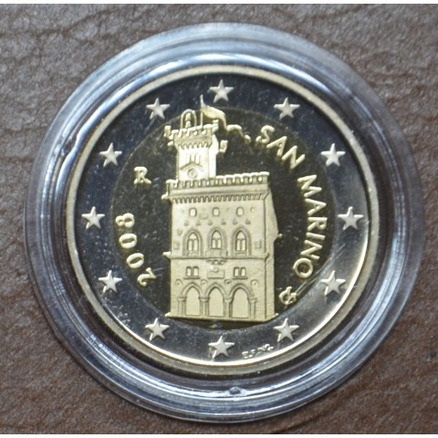 2 Euro San Marino 2008 - Government House (Proof)