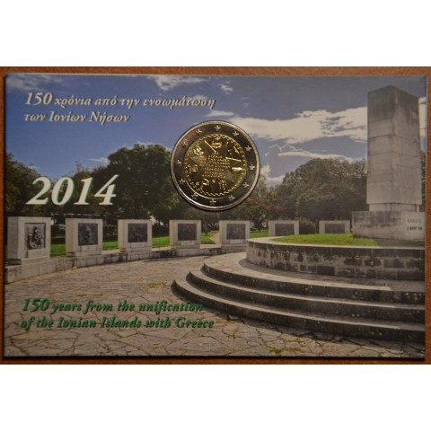 2 Euro Greece 2014 - 150th Anniversary of the Union of the Ionian Islands with Greece (BU)