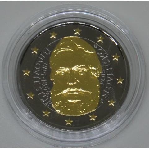 2 Euro Slovakia 2015 - Ludovit Stur (ruthenium-gold plated)