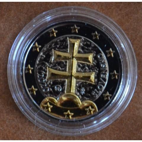2 Euro Slovakia 2020 (ruthenium-gold plated)