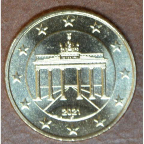 "50 cent Germany ""F"" 2021 (UNC)"