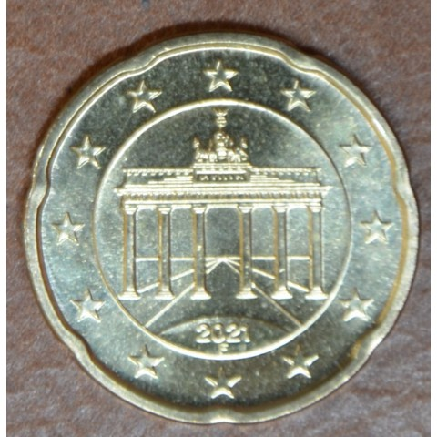"20 cent Germany ""F"" 2021 (UNC)"