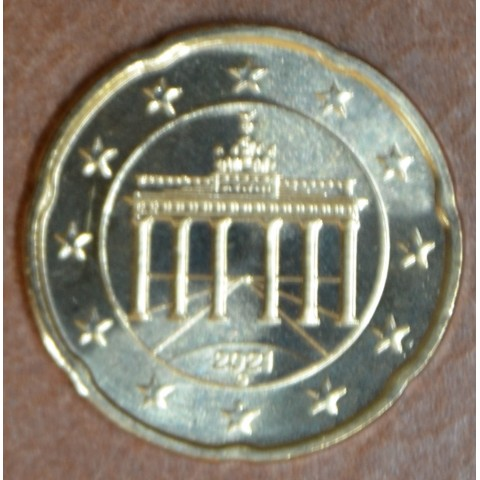 """20 cent Germany """"G"""" 2021 (UNC)"""