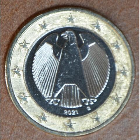 "1 Euro Germany ""G"" 2021 (UNC)"