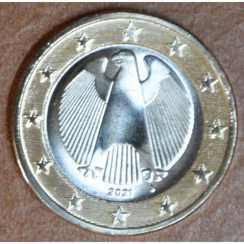 "1 Euro Germany ""J"" 2021 (UNC)"