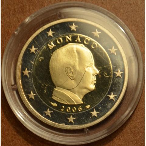Damaged 2 Euro Monaco 2006 (Proof)
