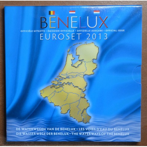 BeNeLux 2013 - set of 24 eurocoins (BU)